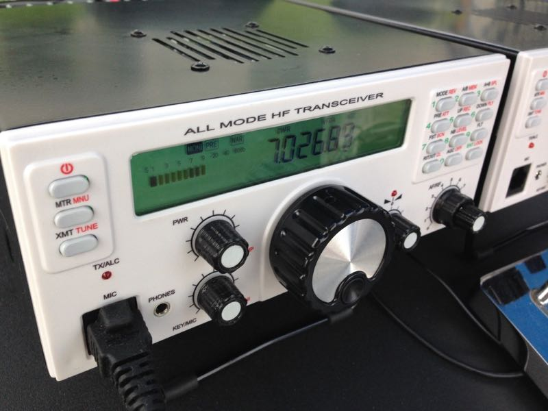 The Mission RGO ONE: A new 50 watt all mode HF transceiver