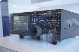 The new Kenwood TS-890S. This rig got a lot of attention.