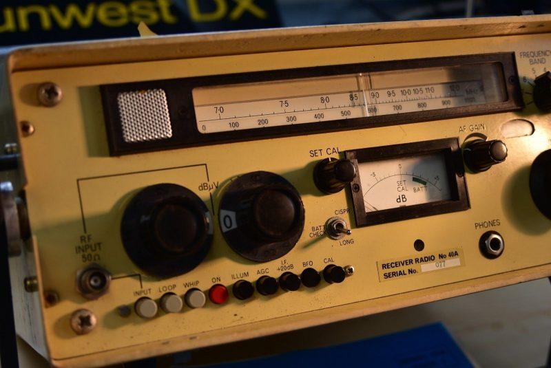 Dan spots a rare Eddystone 40A HF receiver on eBay   The SWLing Post
