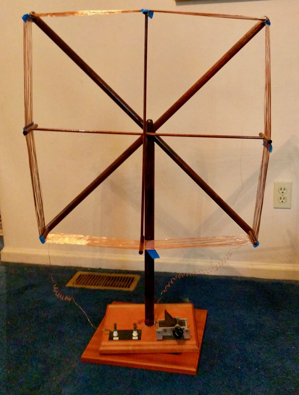 Bill scores a homebrew LW/MW magnetic loop antenna | The