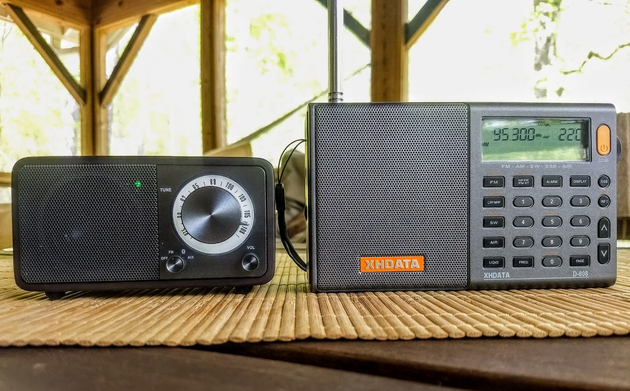 A review of the supercompact Sangean WR-7 FM Radio and Bluetooth