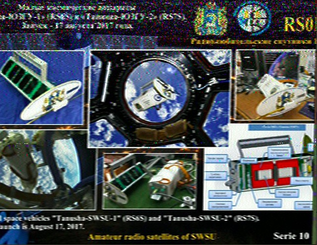 Mark decodes SSTV images from International Space Station | The