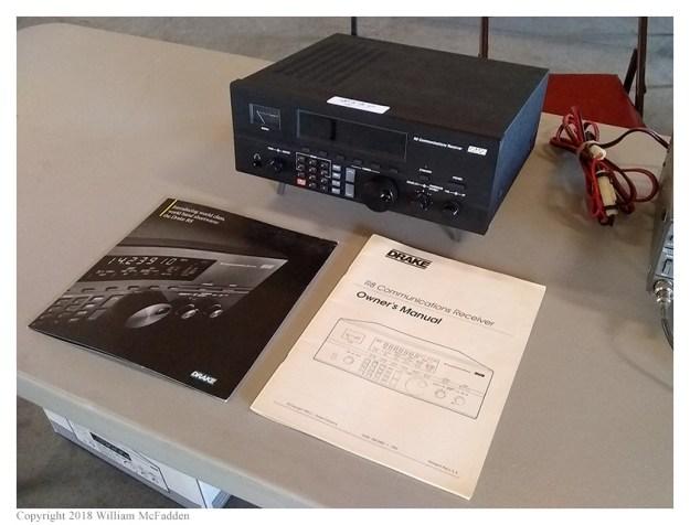 Drake R8 receiver