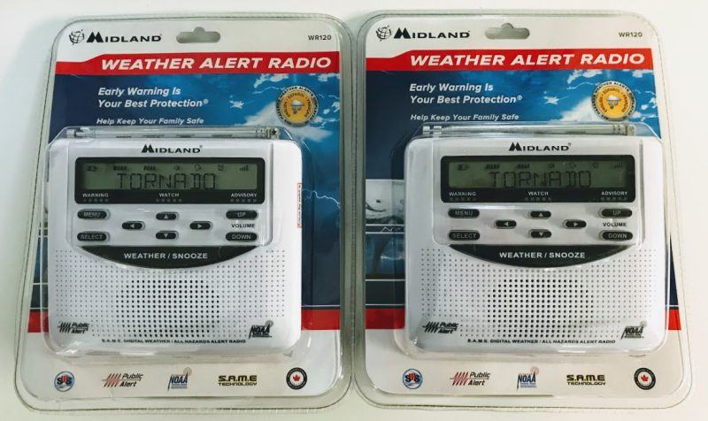 Radio Deal: Midland WR120 weather radios on clearance at