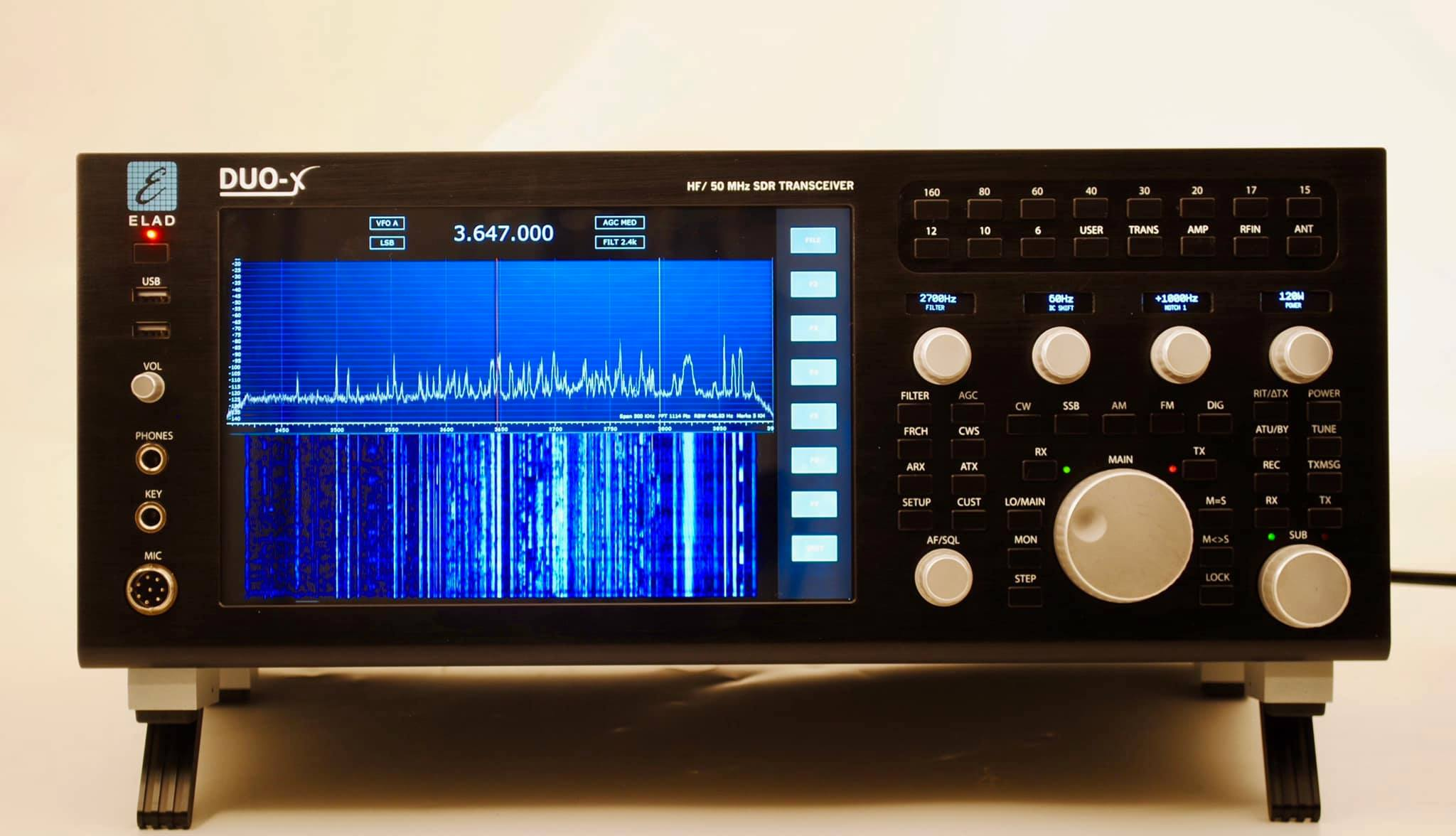 ELAD introduces the new DUO-X SDR Transceiver | The SWLing Post