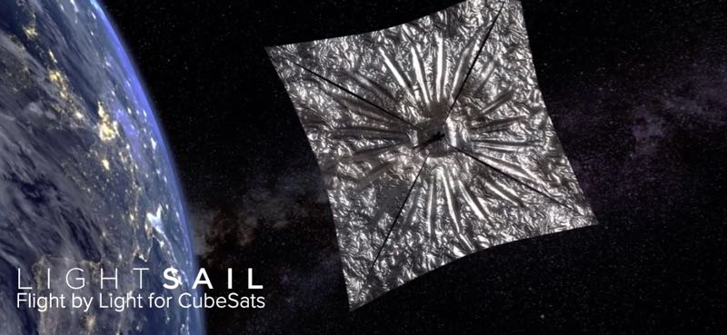 LightSail 2 to transmit Morse Code ID on 437 025 MHz | The