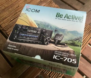 Icom IC-705 Transceiver Unboxing - 1