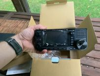 Icom IC-705 Transceiver Unboxing - 14