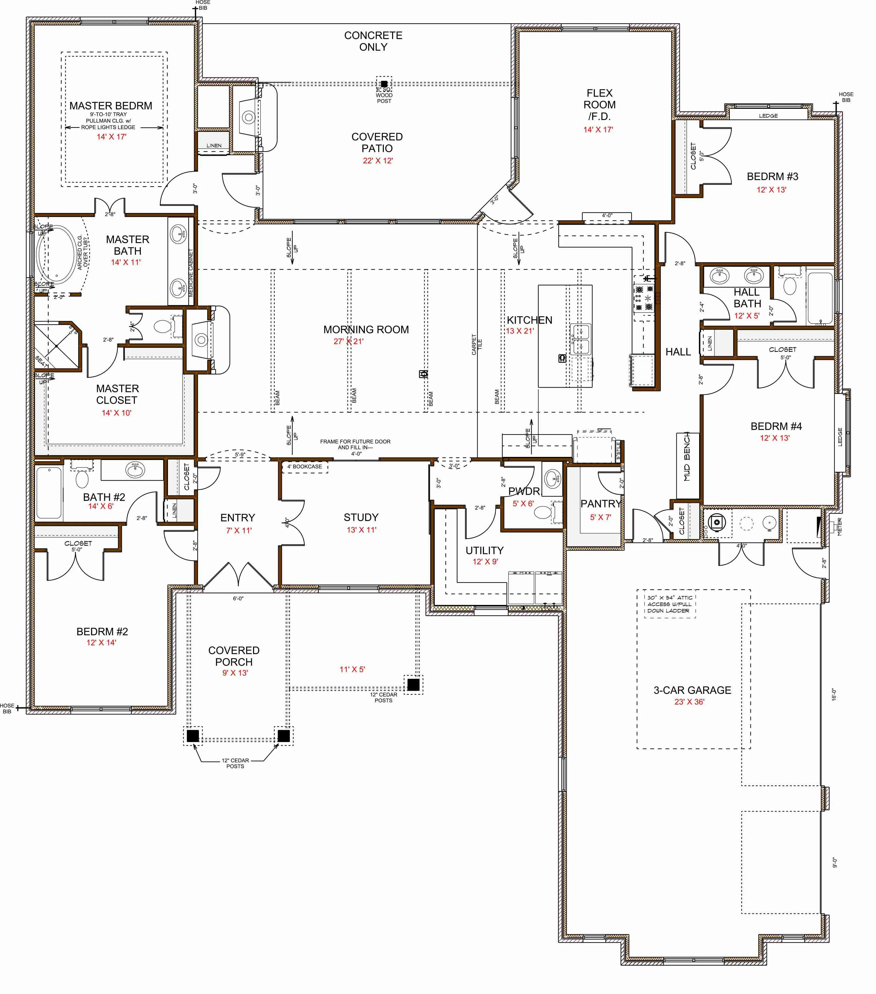 3012 Ashton Cove Dr - Floor Plan