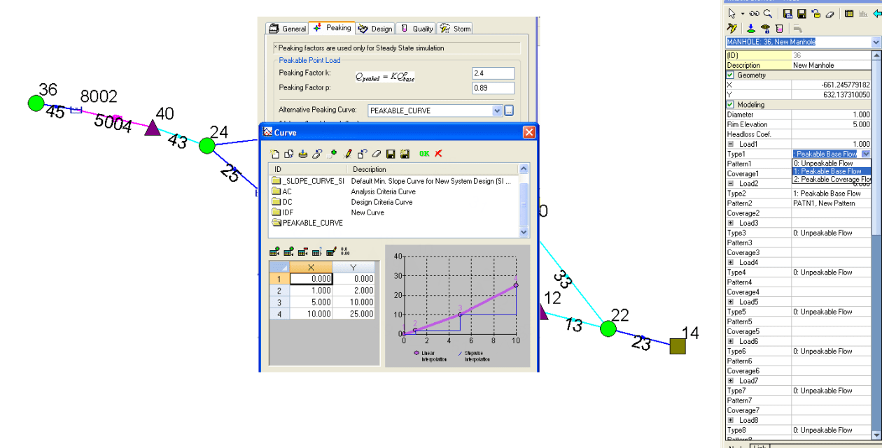 Loading Dialogs in InfoSewer/H2OMap Sewer