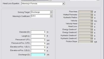 Energy Relation for Closed Conduit Flow in Innovyze H2OCalc | Blogs