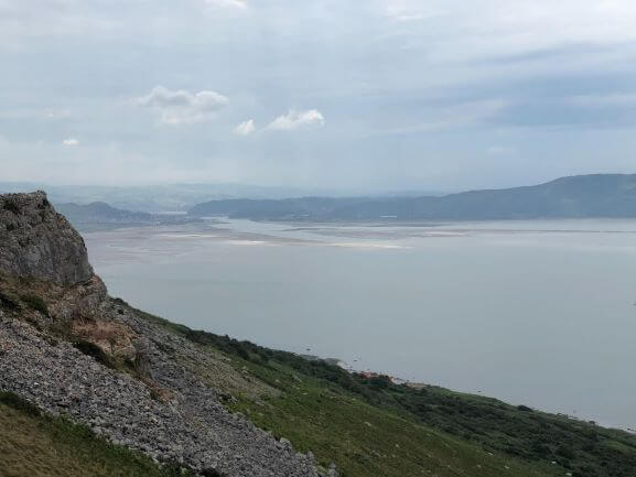 View towards Conwy from the Great Orme Coastal Path