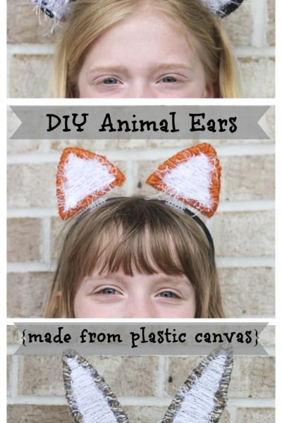 DIY Animal Ear Headband - Swoodson Says