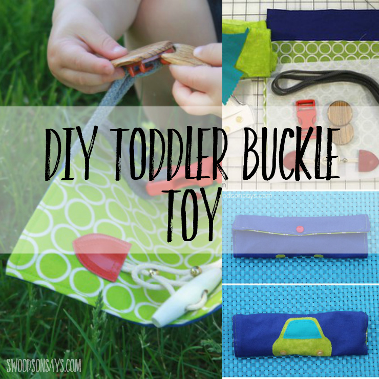 Sew a buckle toy for your toddler - simple, photo instructions on how to make a handmade toy.Sew a buckle toy for your toddler - simple, photo instructions on how to make a handmade toy. #sewingtutorial #buckletoy
