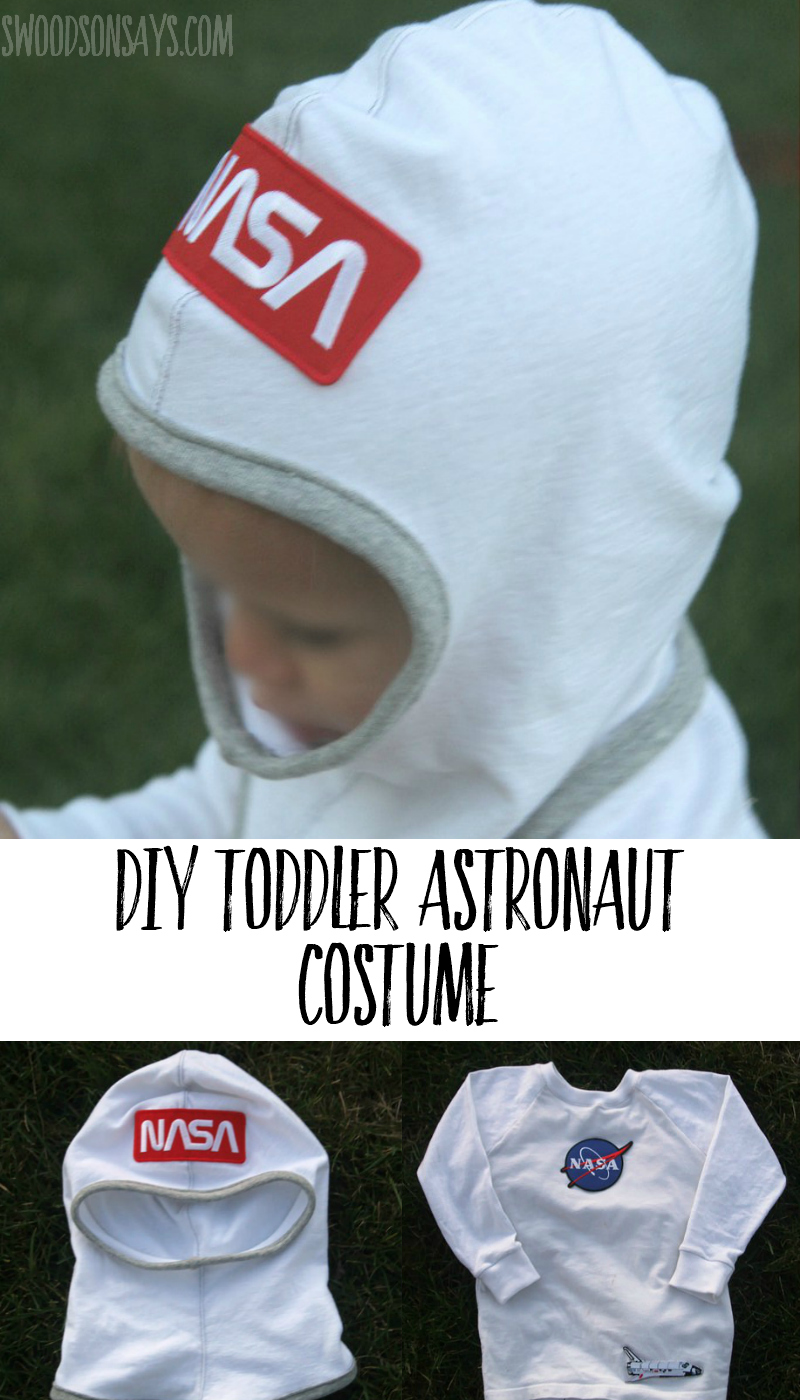 diy toddler astronaut costume