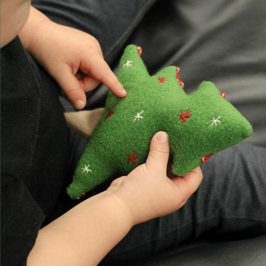Christmas Tree Softie PDF Sewing Pattern