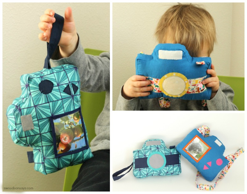 Little Photographer Camera - a sewing pattern from Swoodson Says