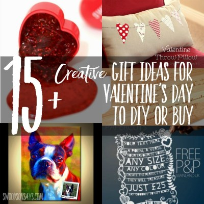 Creative Gift Ideas for Valentine's Day to DIY or Buy
