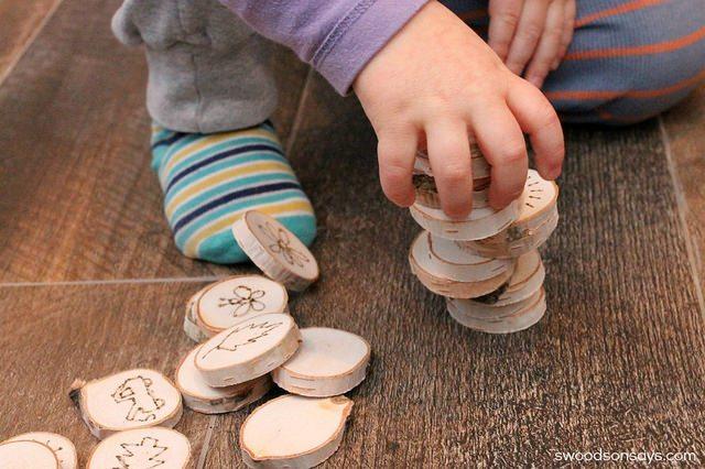 woodburned toy idea diy
