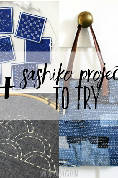 15+ sashiko embroidery patterns and tutorials
