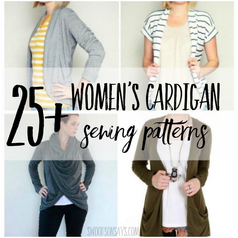 cardigan sewing patterns