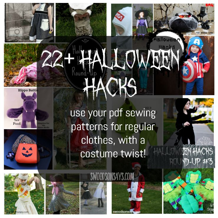 Halloween Costume Sewing Patterns For Kids Swoodson Says