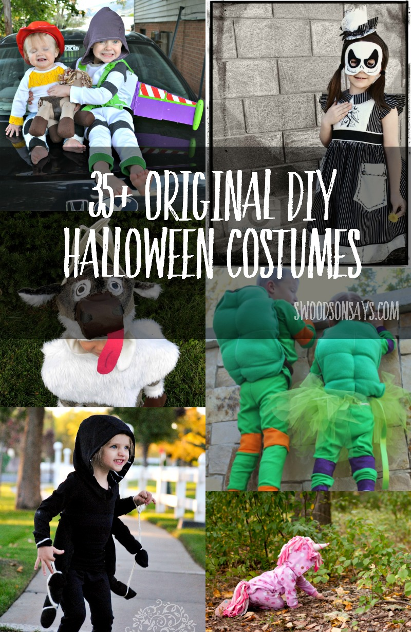 Clothing PDF Patterns - Hacked for Halloween Costumes! - Swoodson Says