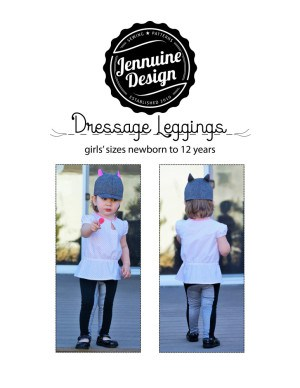 horse back riding leggings sewing pattern
