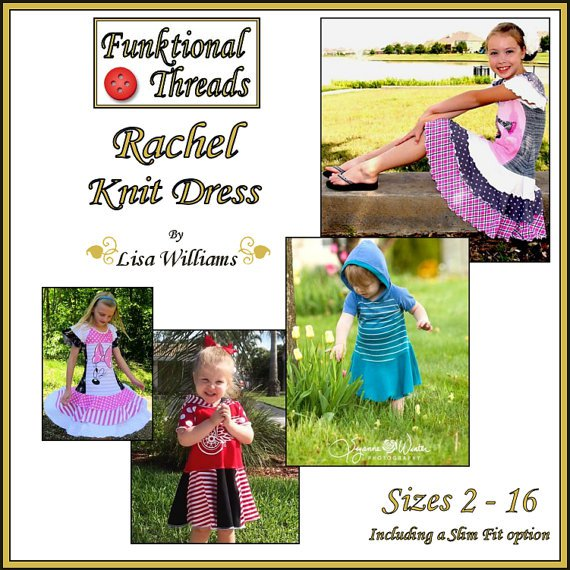 panel dress to sew for girls