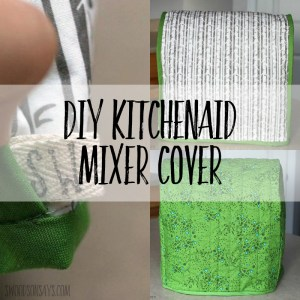 Reversible Kitchenaid Mixer Cover