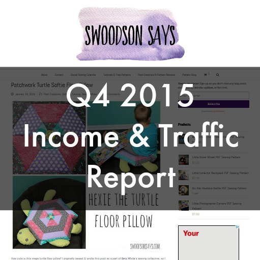 q4 2015 income and traffic report