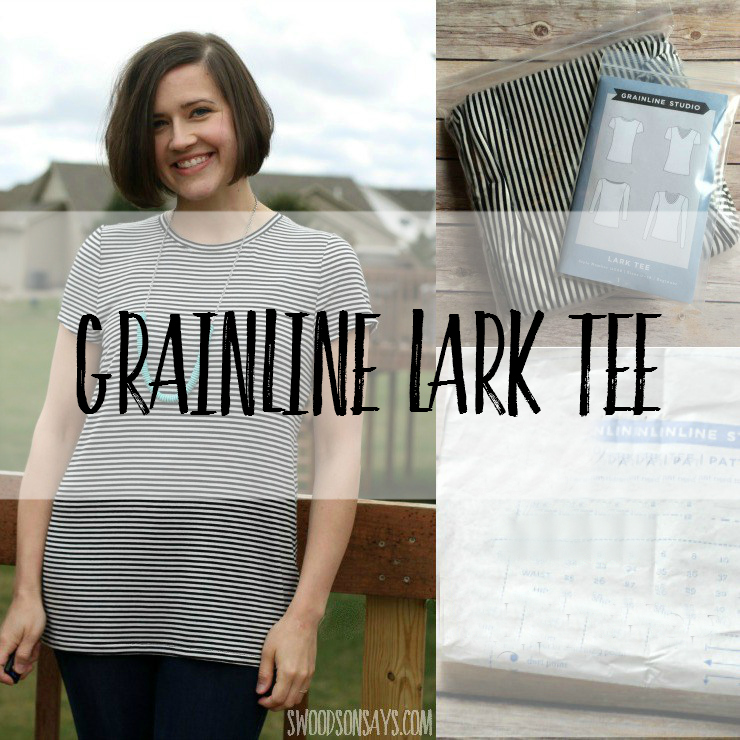 Grainline Lark Tee Pattern Review Swoodson Says