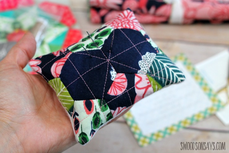 epp hexie pincushion