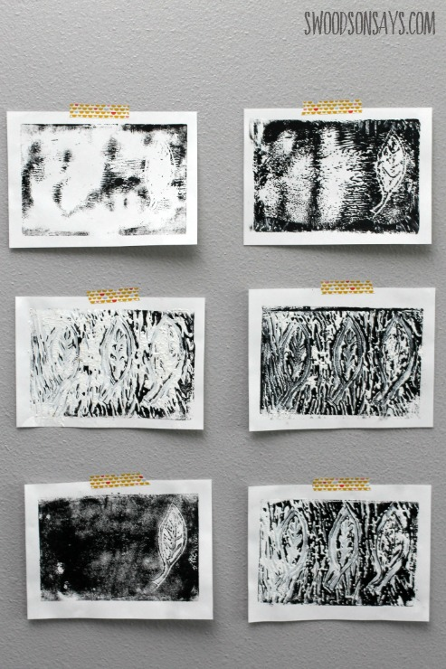 second pass printmaking