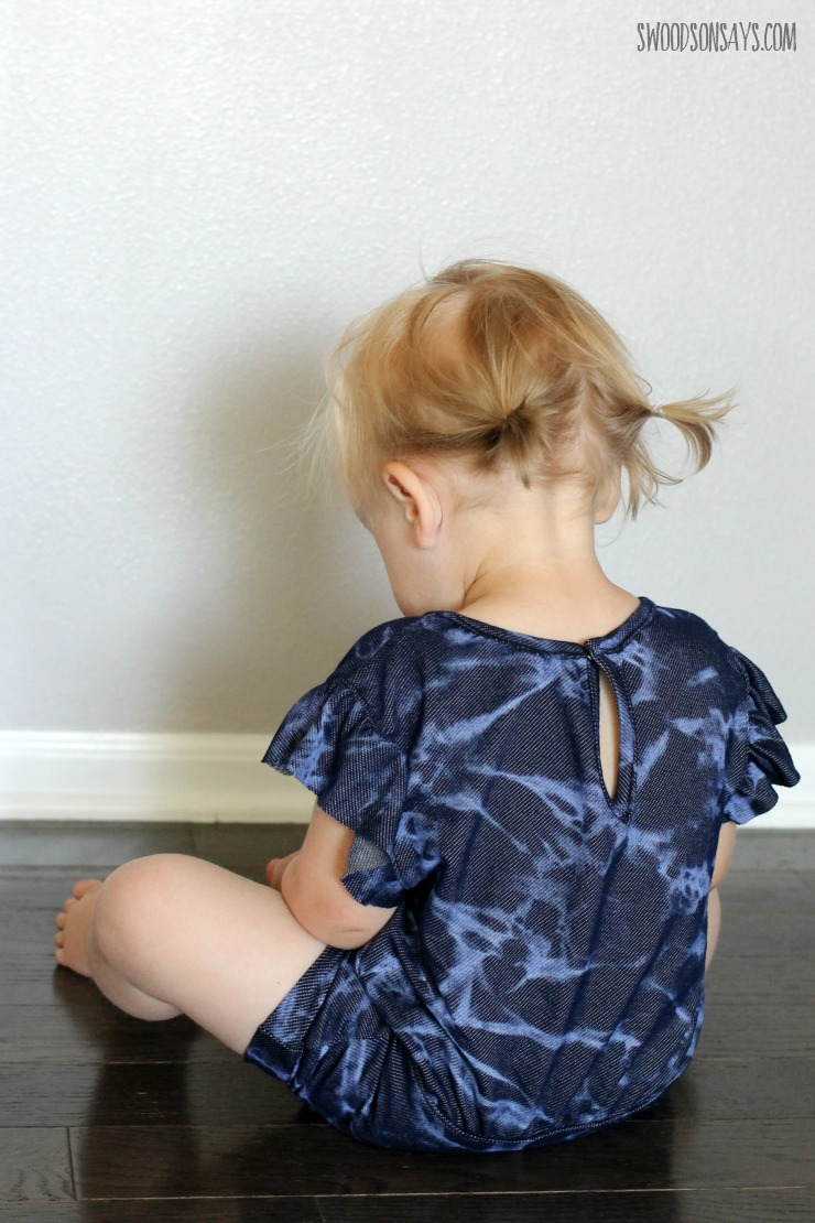 summer romper sewing pattern
