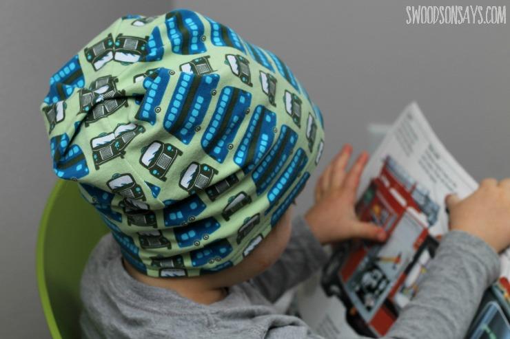 boys slouchy beanie hat