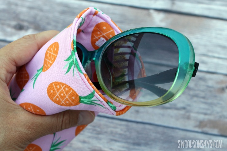 how to make a sunglasses case