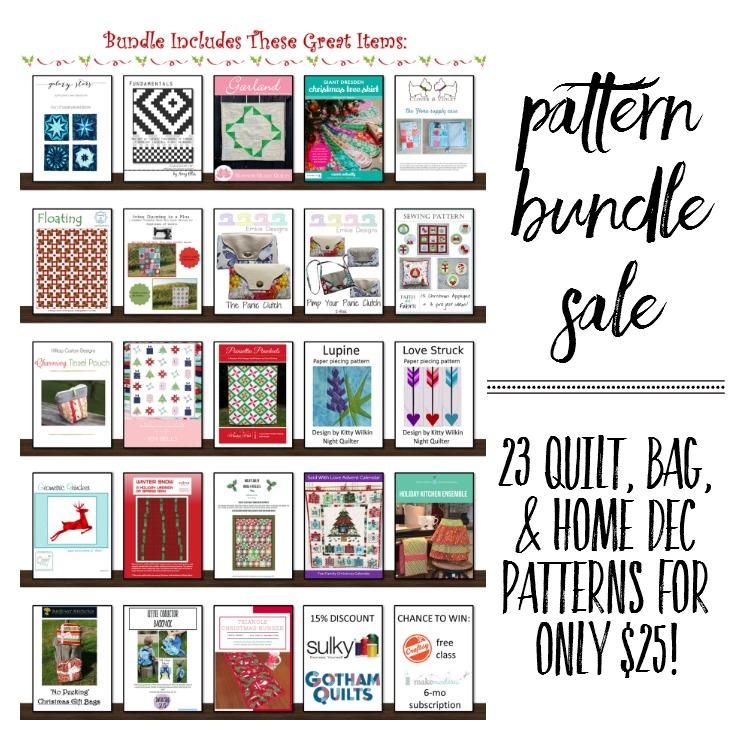 quilting pattern bundle