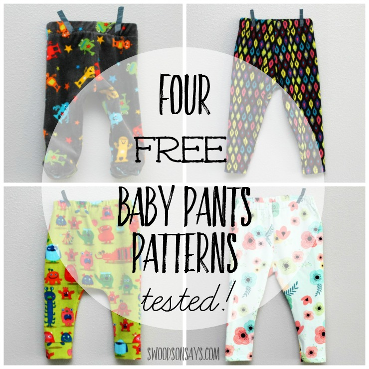 100+ Free baby sewing patterns for beginners!