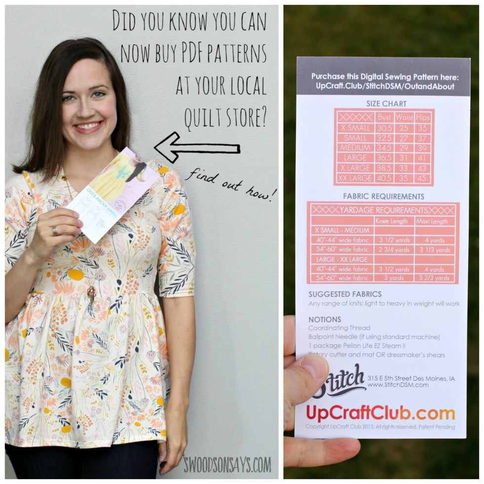 Pdf sewing pattern cards from upcraft club swoodson says you can buy pdf patterns at your local quilt shop now thanks to upcraft club jeuxipadfo Images