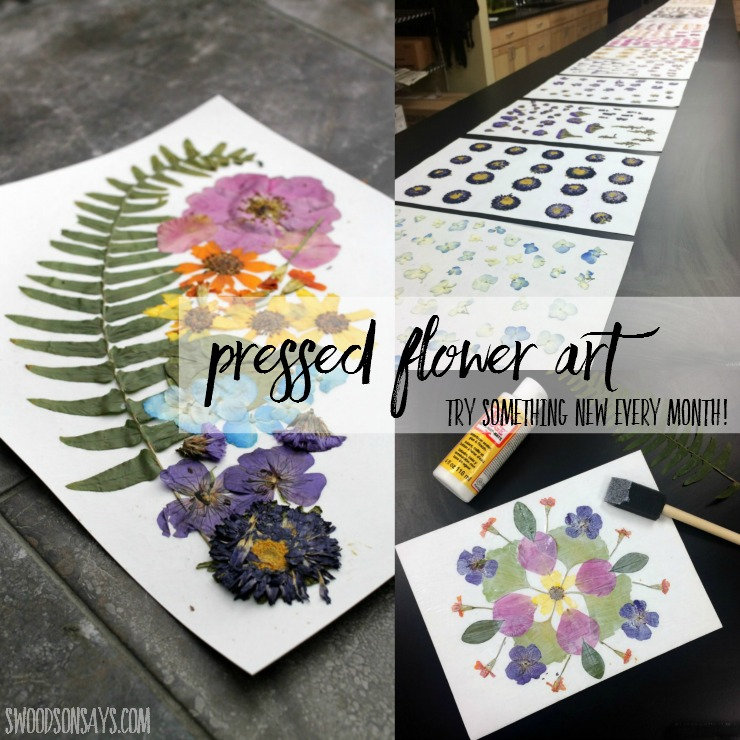 Dried and pressed flowers make wonderful natural craft supplies!