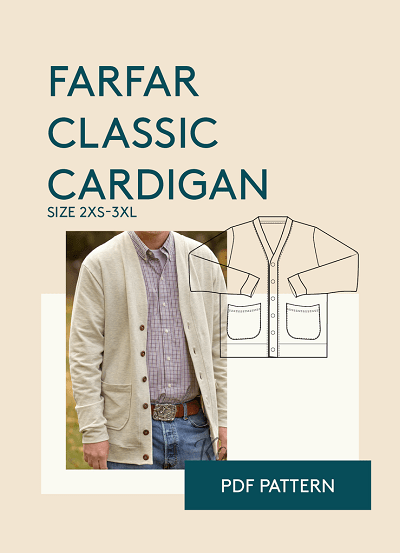 List of 100 mens sewing patterns to sew farfar cardigan from wardrobe by me price 1200 fandeluxe Gallery