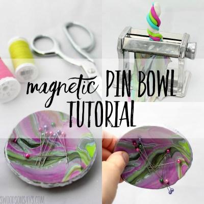 magnetic pin bowl tutorial