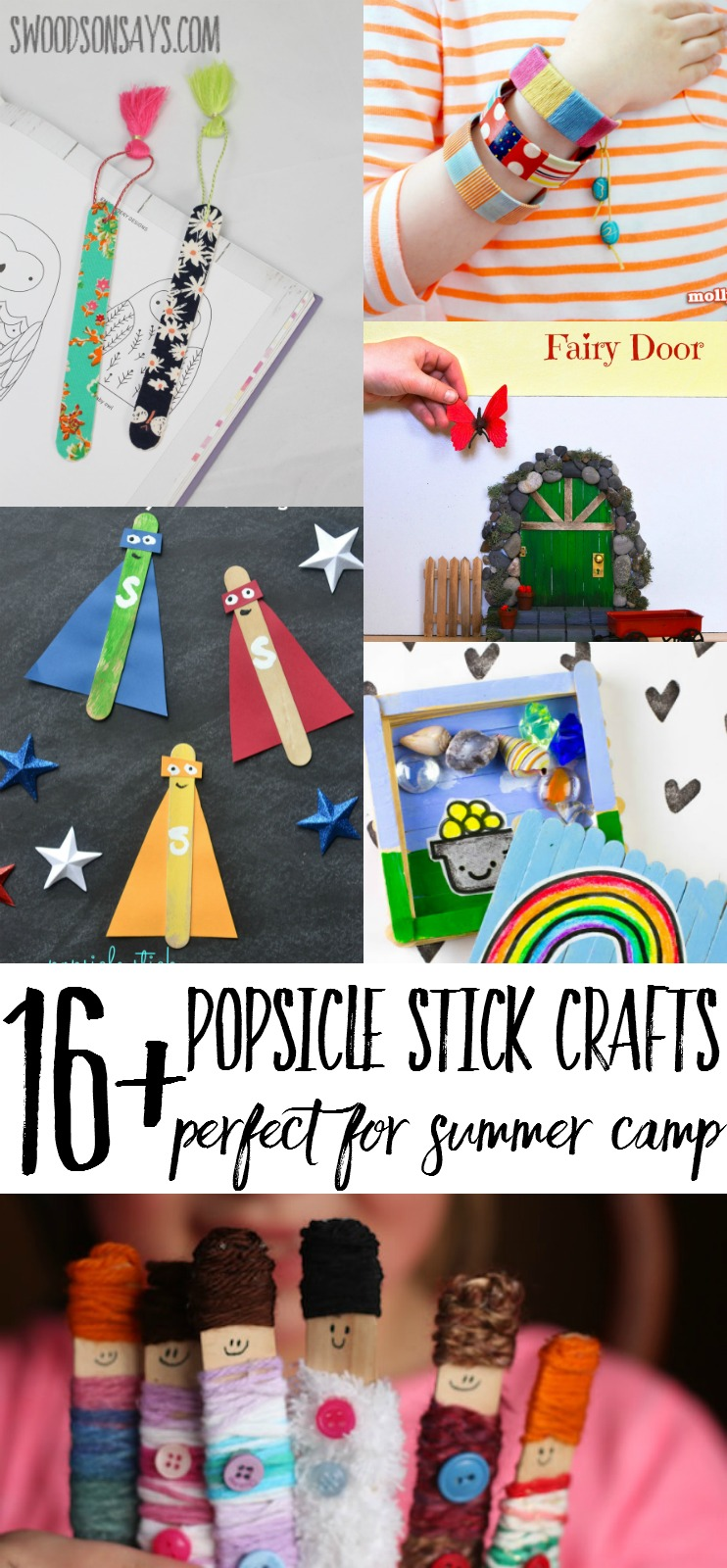 Popsicle Stick Craft Ideas For Summer Camp Swoodson Says