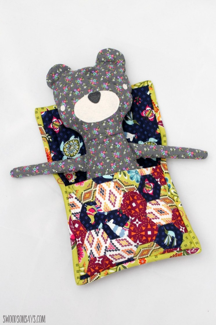 how to make a build a bear sleeping bag