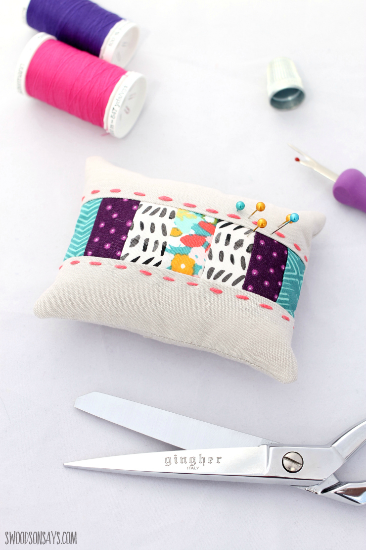 25 free pincushion sewing tutorials swoodson says embroidered pincushion sewn by me in this post free pattern from the sewing loft jeuxipadfo Gallery