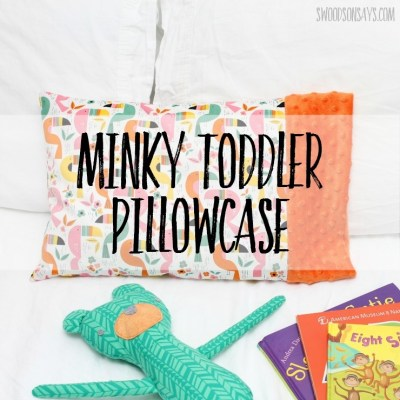 Free toddler pillow case pattern – tested!