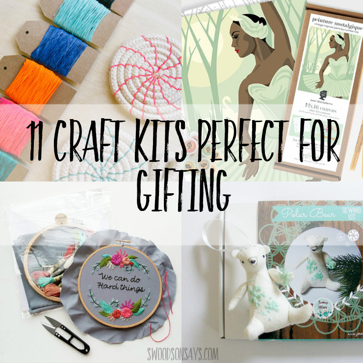 11 Craft Kits Perfect for Gifting
