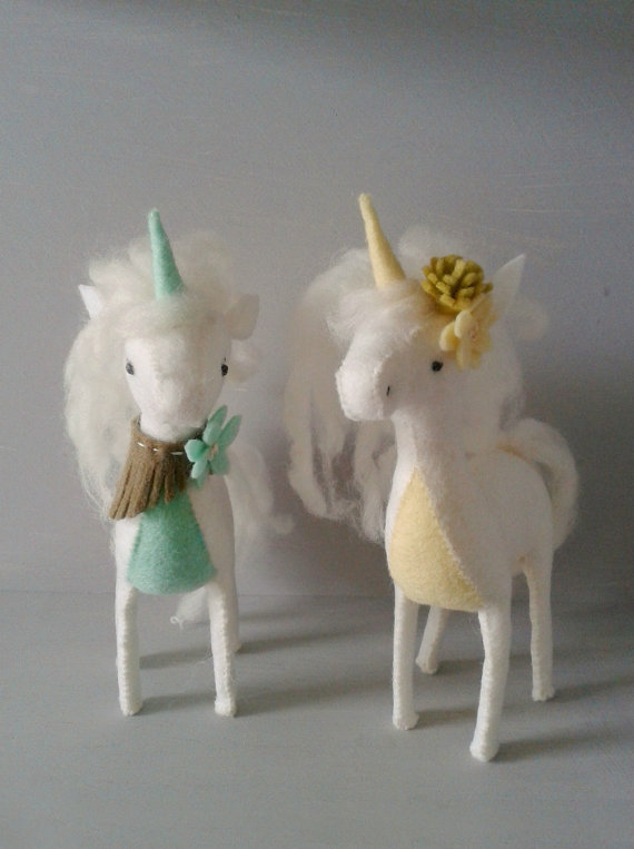Felt Unicorn Sewing Craft Kit From Jenny Blair All Hand I Love The Whimsical Color Additions