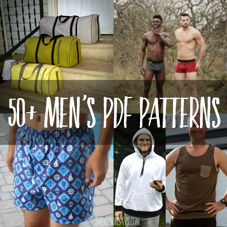 List of 100+ men\'s sewing patterns to sew